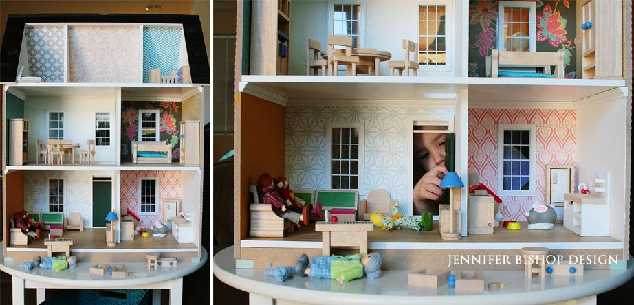 Jennifer Bishop Design San Ramon CA Interior Designer Modern Dollhouse