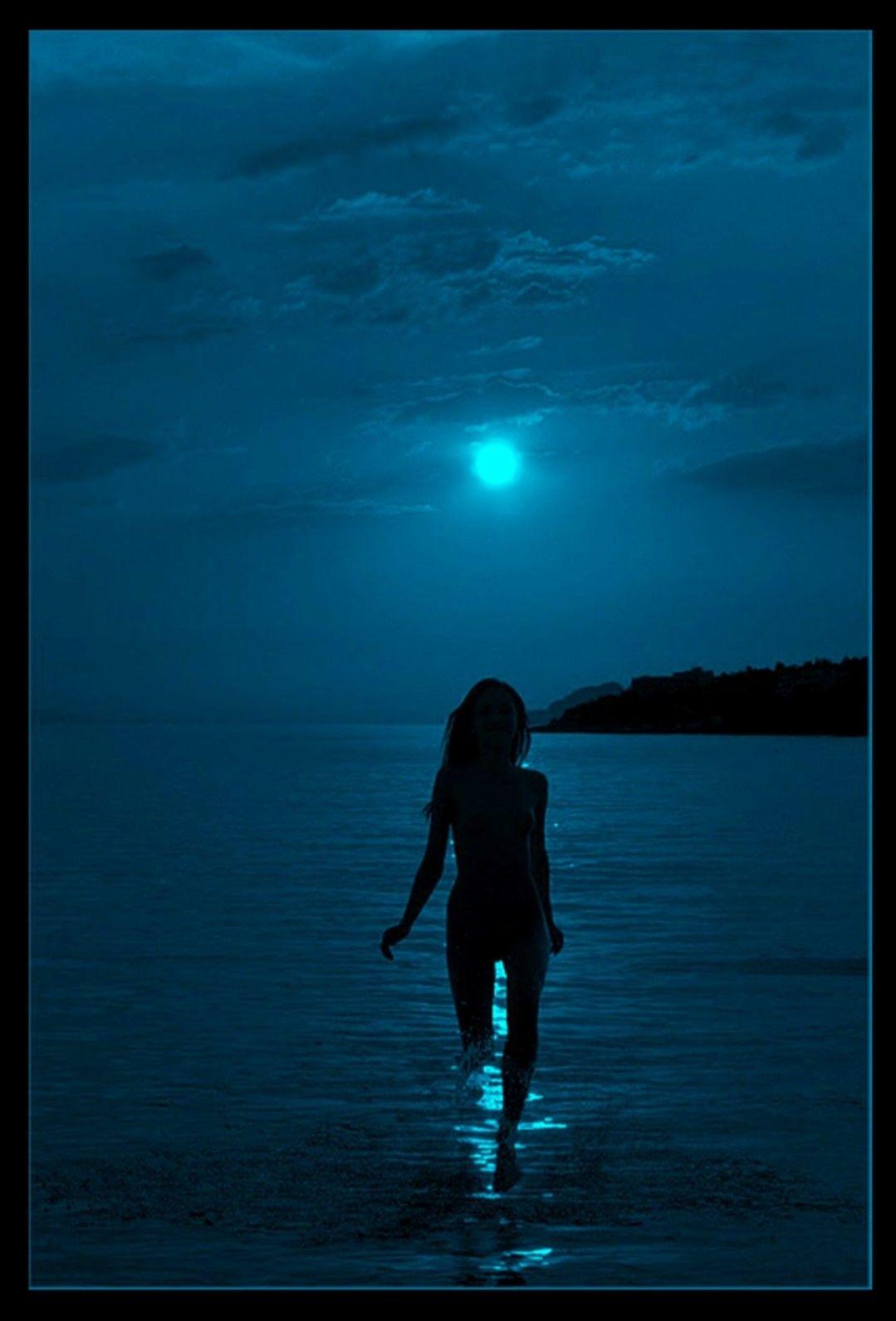 Pin by Javi manoatl on Luna Azul | Beautiful moon, Blue ...