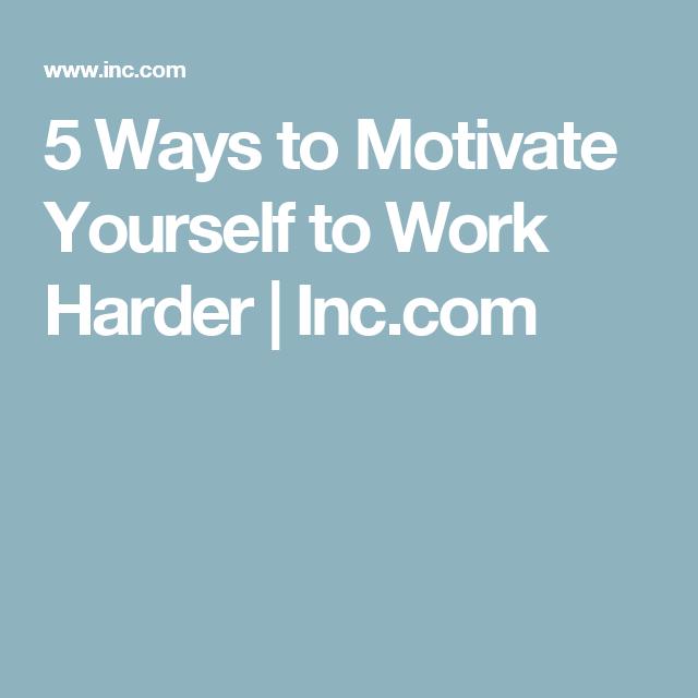 Photo of Es ist möglich: Wie Sie sich motivieren, härter zu arbeiten