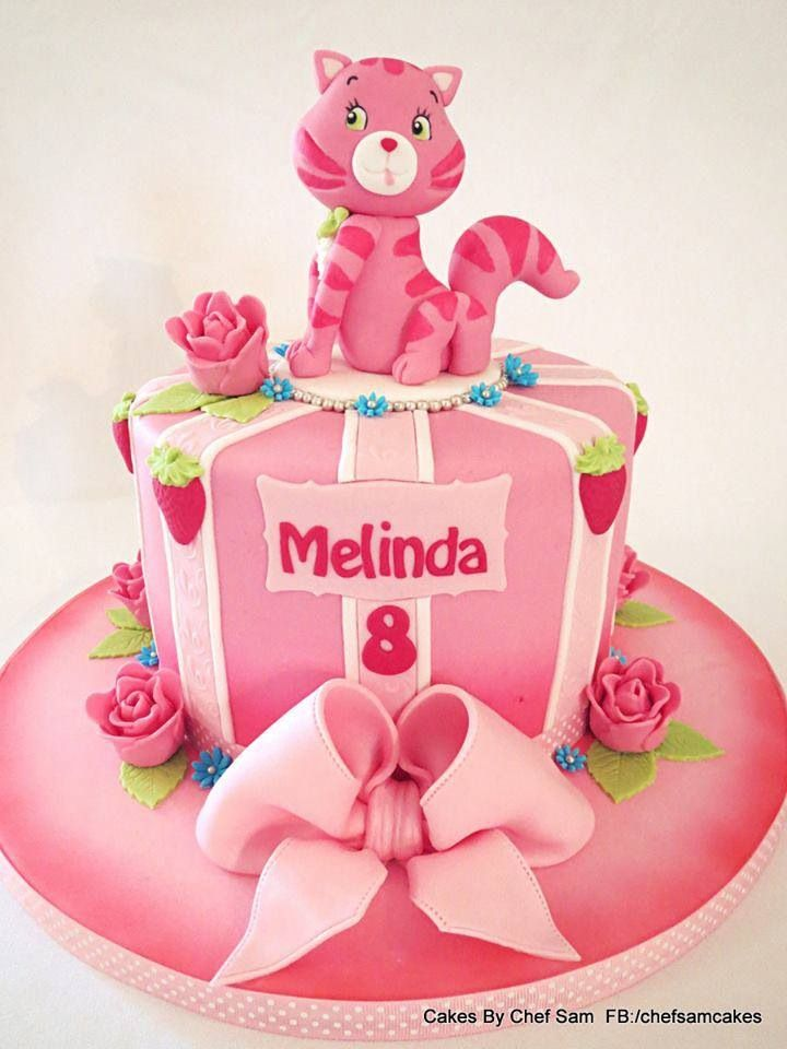 Cat Birthday Cake Girl Julias Cats Favorite Cat Cakes Pinterest