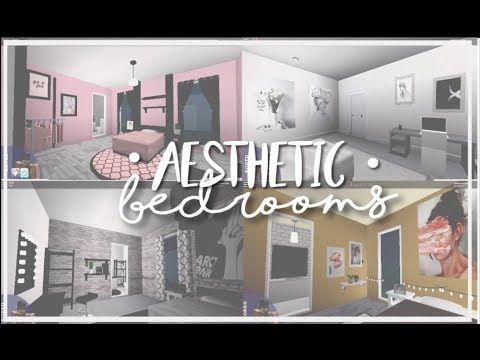 Roblox Bloxburg Aesthetic Bedrooms Living Room Wall
