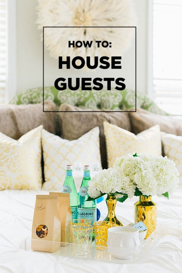 How To Prepare For House Guests Guest House Guest Bedroom Decor