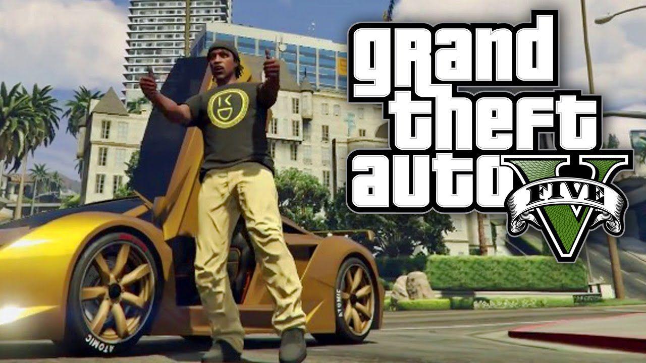 Gta v online gold cars and gold shirts gta v online