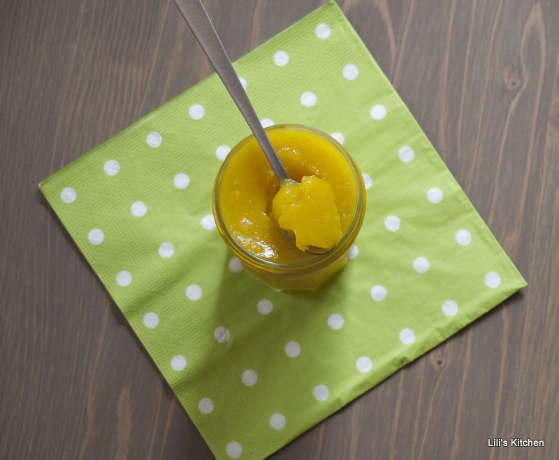 lemoncurd vegan Crème au citron et avoine