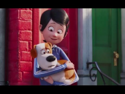 Katie and Max The Secret Life Of Pets COPYRIGHT © 2016