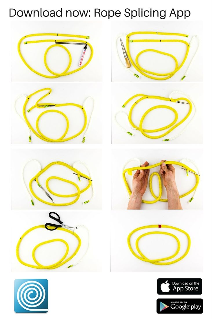 How to splice an endless sheet download the rope splicing app and how to splice an endless sheet download the rope splicing app and check the manual fandeluxe Gallery