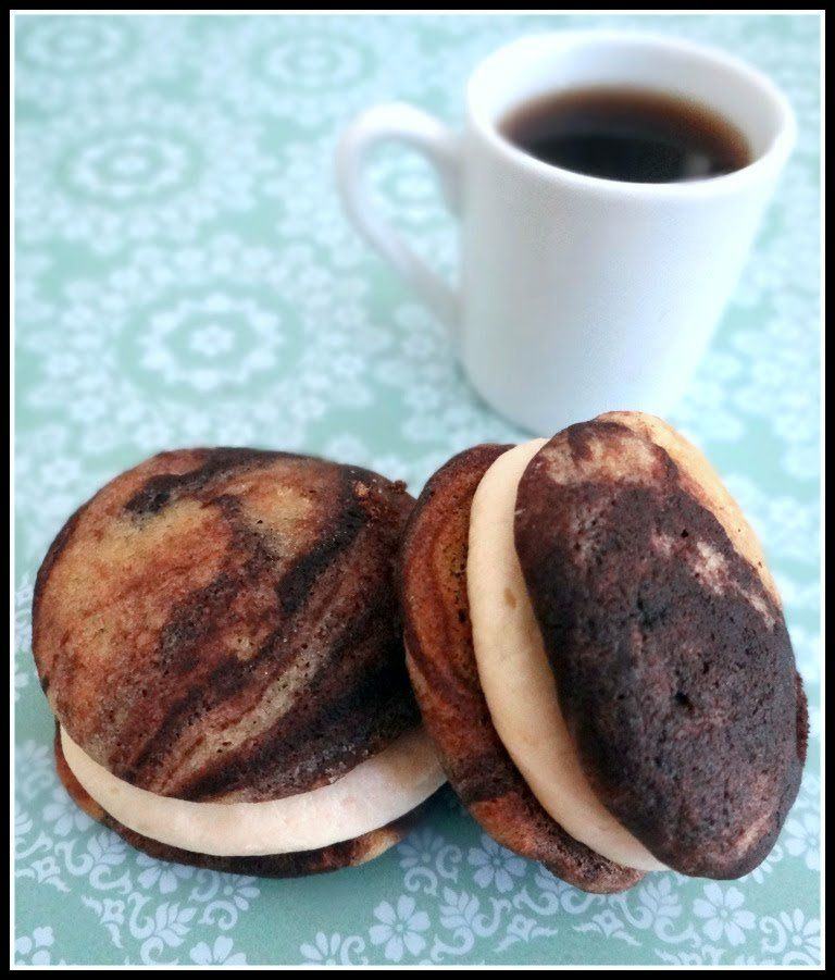 My husband has dubbed me the Queen of Whoopie Pies. I like it. They are just so cute, and the cake is so soft and the filling is so creamy. Really, whoopie pies are just delicious. But don&#8217…