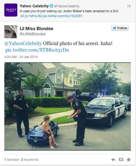 THE INTERNETS BEST REACTIONS TO JUSTIN BIEBERS ARREST Funnys - Best reactions to justin bieber arrest