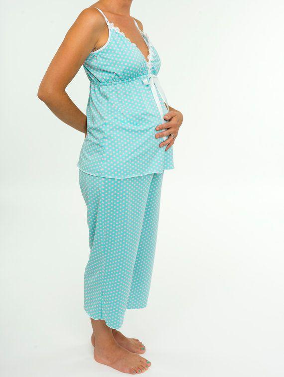 4fc73e8066 Women s Nursing Sleepwear - Ladies Maternity Pregnancy After Baby ...