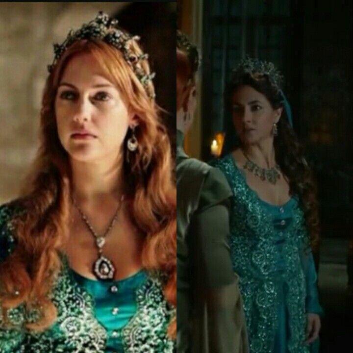 Magnificent heritage- Blue dress