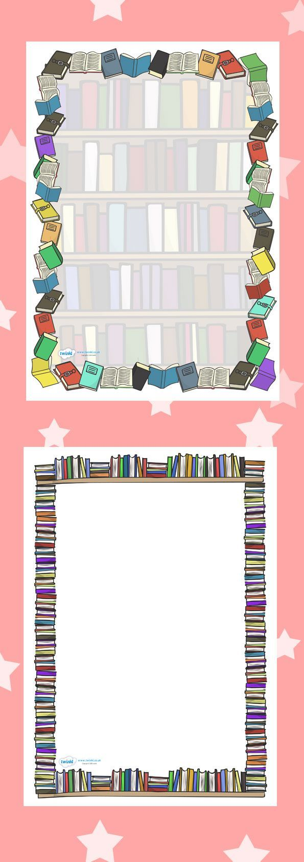 free school themed border paper – Writing Paper Template with Borders
