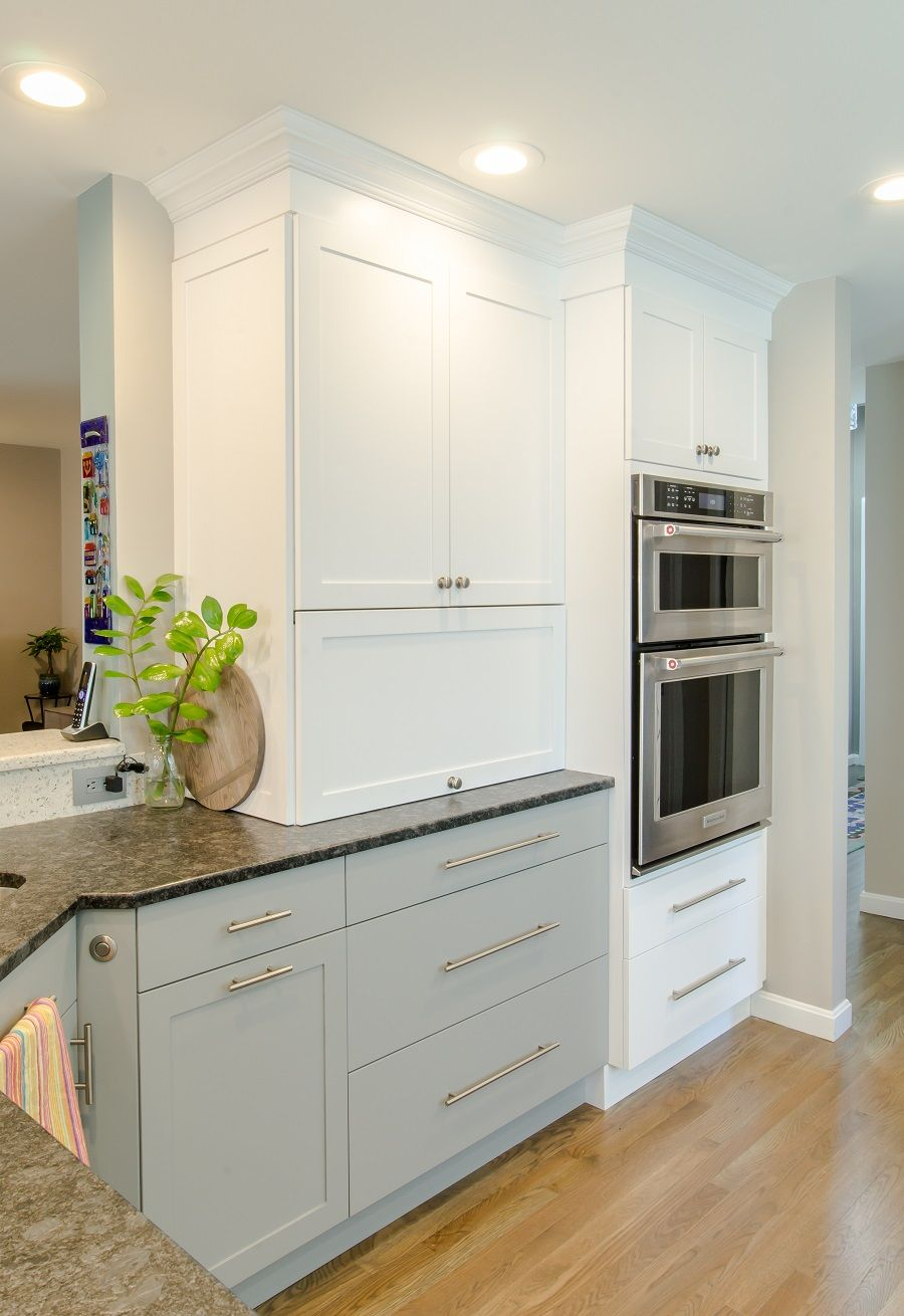 99 Two Toned Kitchen Winchester Ma In 2020 Transitional Kitchen Kitchen Decor Kitchen Remodel