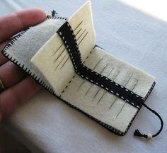 Organizador de agujas. Sidereal Day: Little Needle Case