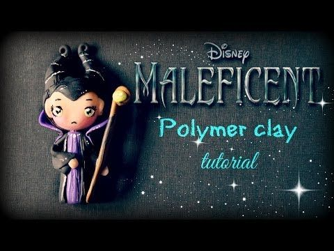 Maleficent Polymer Clay Tutorial