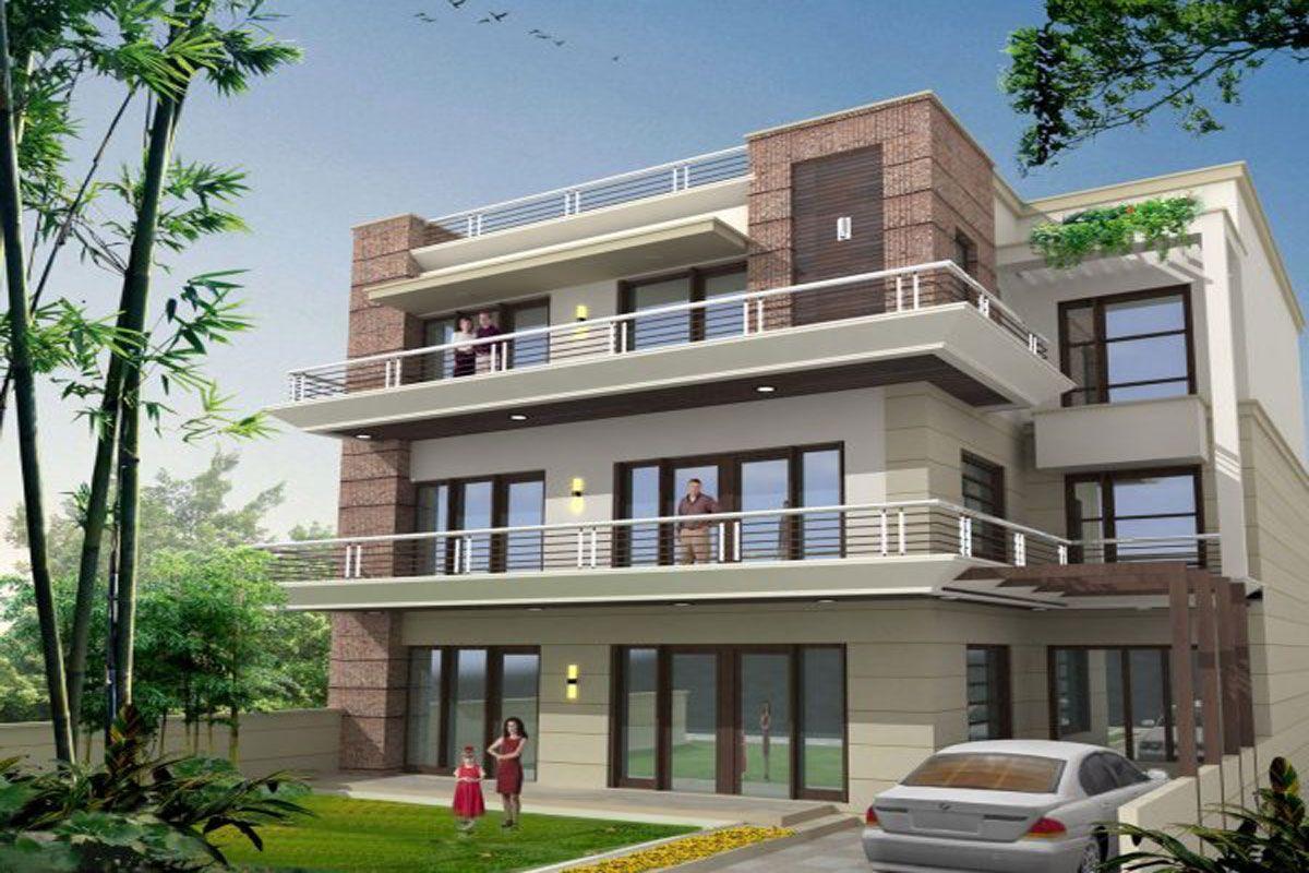 Builder Floor 95 L2 Cr. Flat rent, Realty, Property
