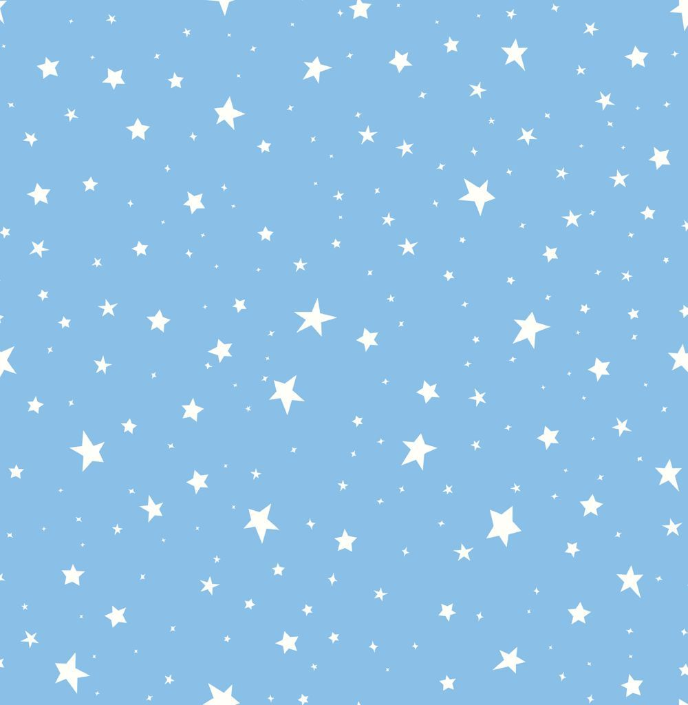 Stars By Albany Powder Blue Wallpaper Direct Blue Star Wallpaper Blue Aesthetic Pastel Blue Aesthetic