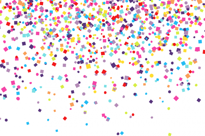 Confetti Backgrounds By Chuckchee Confetti Background Happy Birthday Lettering Confetti