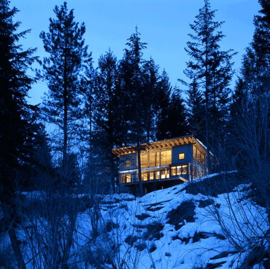 Mazama Cabin, Methow River, Washington