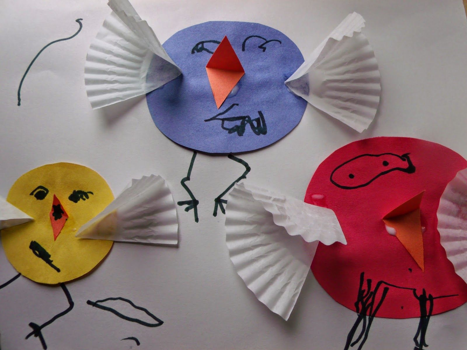 Cute little chicks could make them for the display board Preschool