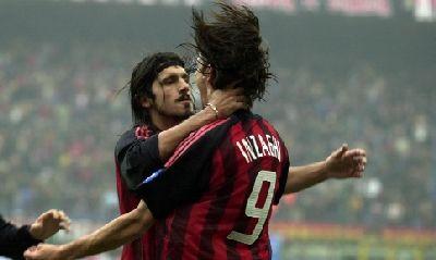Gattuso Inzaghi Milan Running Man