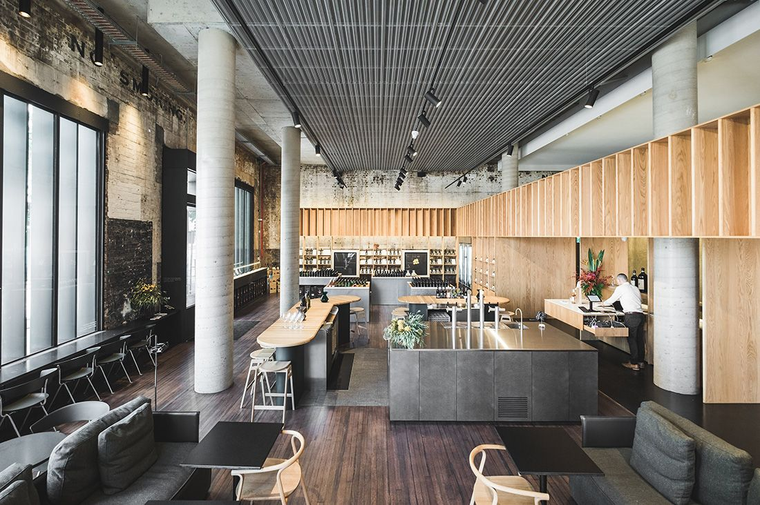 Designoffice create a cellar door in the city indesignlive daily