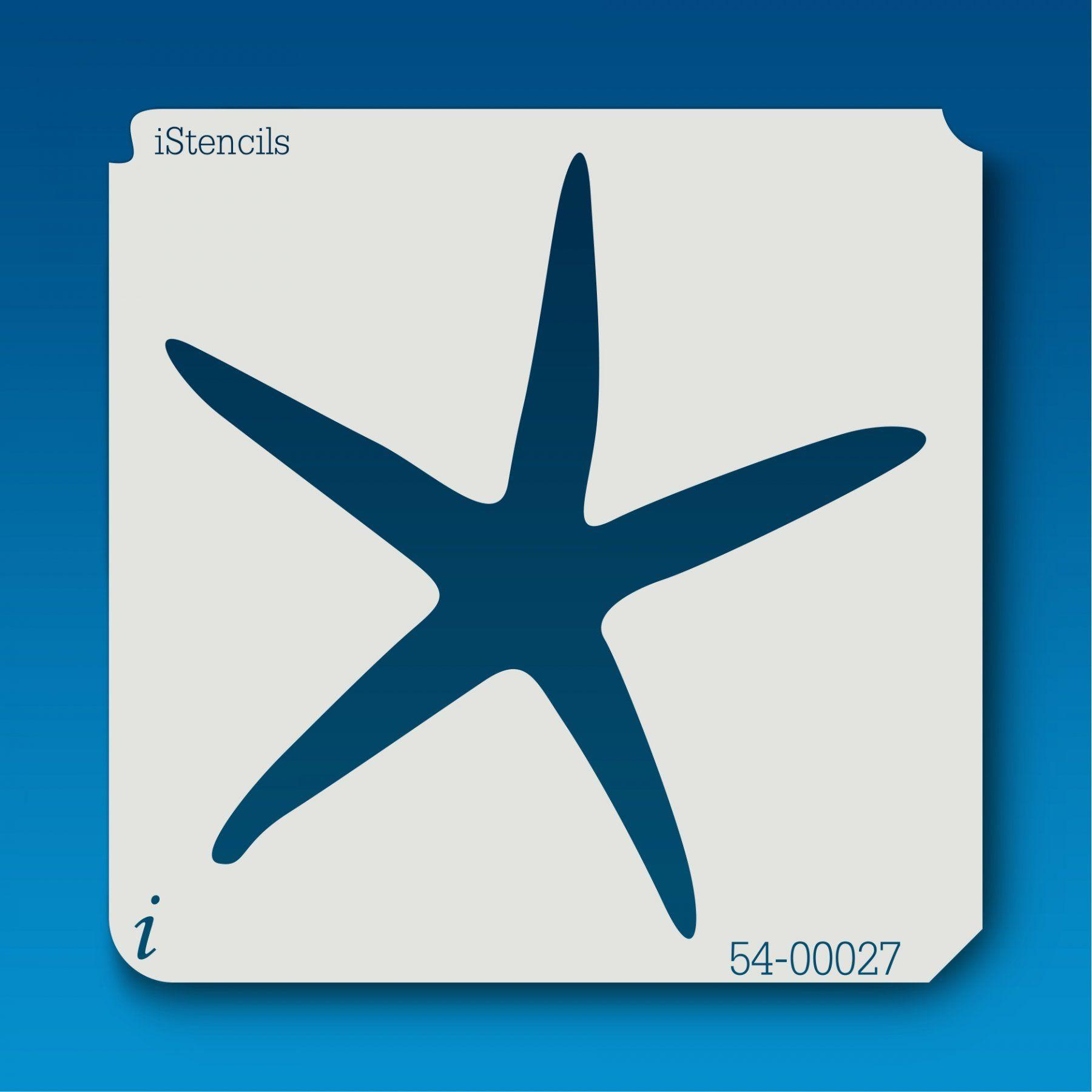 54 Starfish 1 Stencil Furniture Stencils