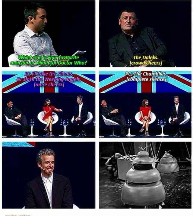 Peter Capaldi: Most Superest Doctor Who Fan!!!