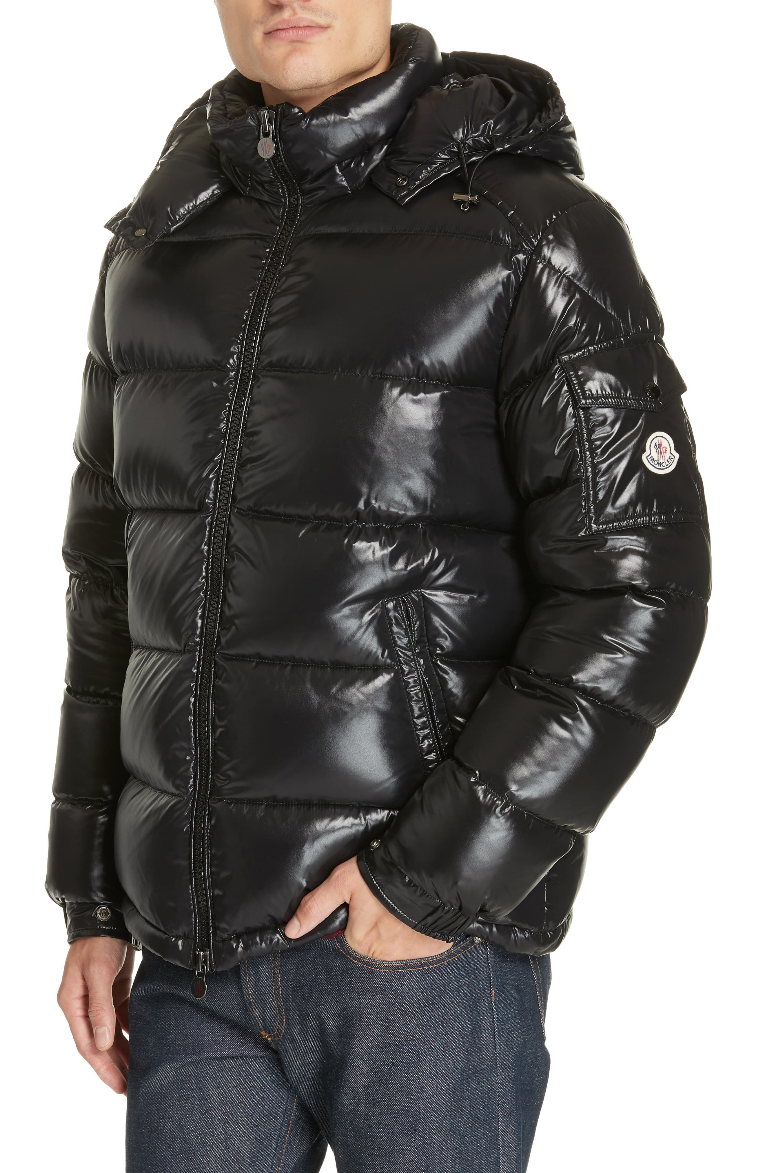 Moncler Maya Laque Quilted Down Jacket Nordstrom Moncler Mens Outfits Mens Winter Fashion [ 4048 x 2640 Pixel ]