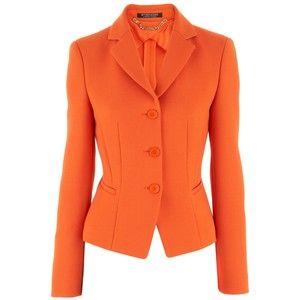 Strenesse Orange Blazer Miriam