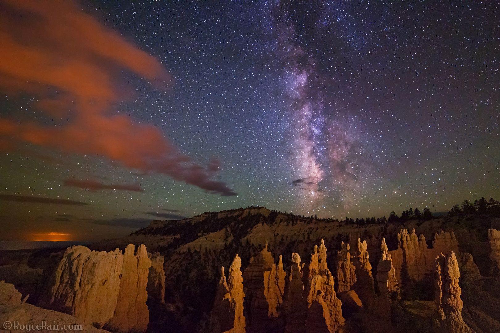 Fotograf Milky Way over Fairyland Point von Royce's NightScapes auf 500px