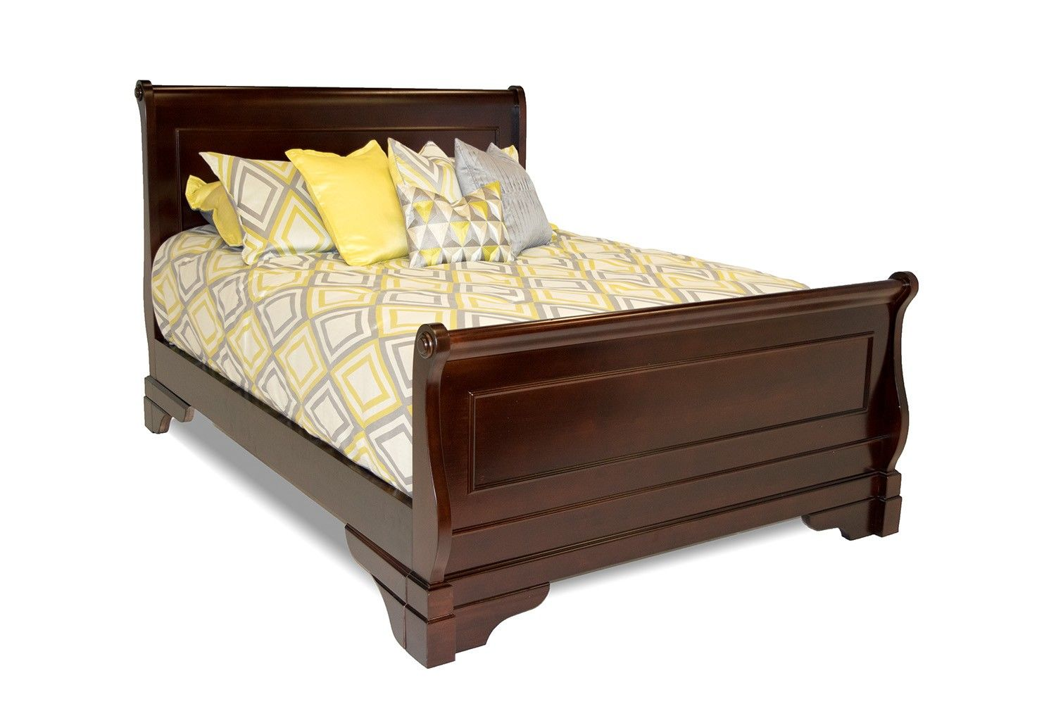 versailles cal king bed in merlot beds bedroom mor furniture