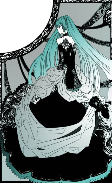 From Cantarella The Only Vocaloid Song I Really Like And The Dress Is So Purty How Could I Resist Miku Vocaloid Hatsune Miku