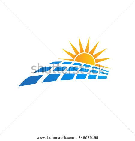 Sun solar panel logo | Shutterstock Graphic Images | Sun