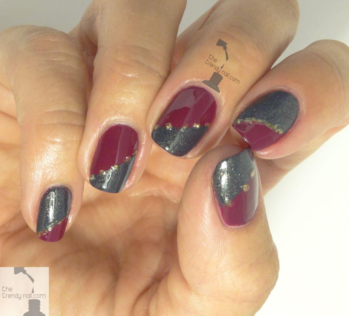IRREGULAR FALL FRENCH MANICURE   Nails   Pinterest   Manicure, Art ...