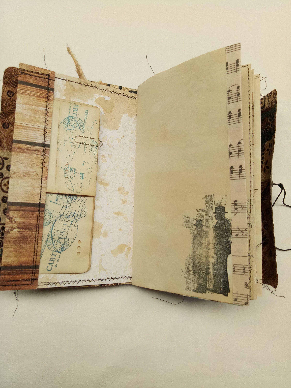 Junk Journal Notebook Diary Planner Album Hand Made Bugs Etsy Junk Journal Journal Notebook Diary Vintage Junk Journal