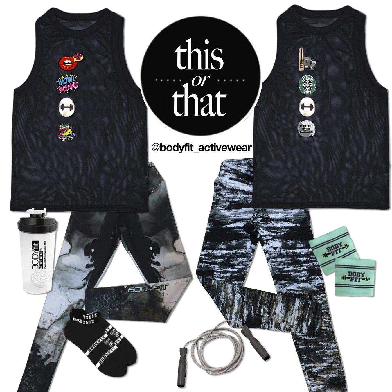 Te presentamos opciones ideales con diseño y comodidad que te motivaran para realizar tus rutinas de entrenamiento. Disponible en todas nuestras tiendas y sitio web www.bodyfitactivewear.com