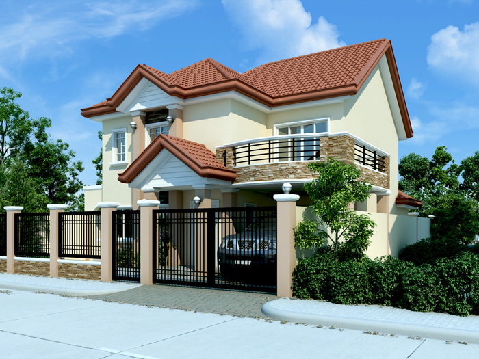 Modern house design pinoy eplans modern house designs for Eplans modern homes