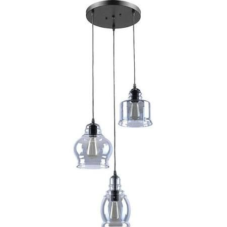 vintage kitchen lighting fixtures. Claxy EcoPower Vintage Kitchen Linear Island Glass Chandelier Pendant Lighting Fixture-3 Lights Fixtures I