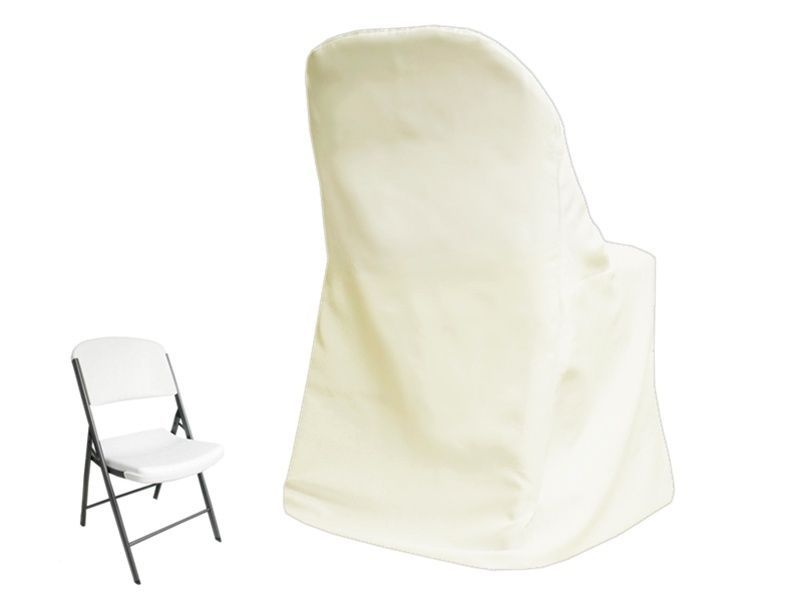 10 x ivory lifetime folding chair covers wedding party discounted decorations