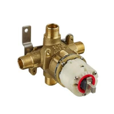 American Standard 1 2 In Pressure Balance Rough Valve With Universal Inlets And Outlets American Standard Faucet Repair Shower Valve