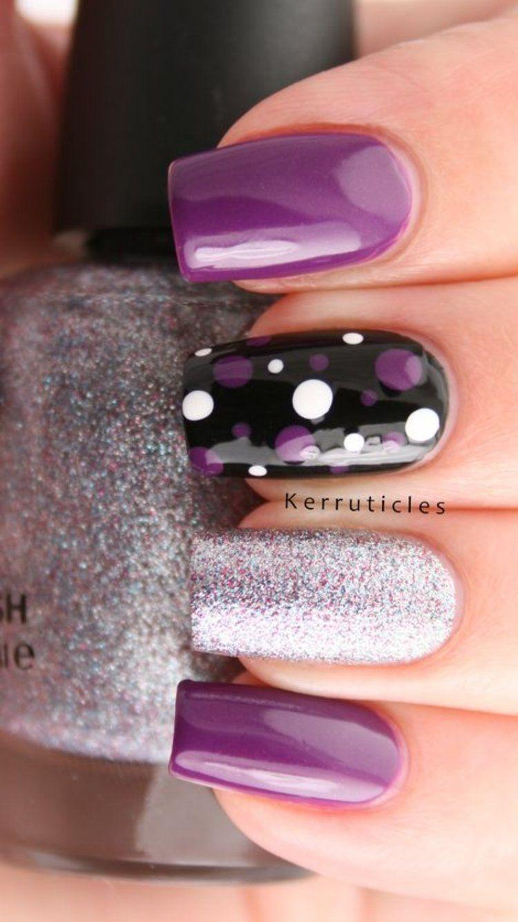 101 Trending Nail Art Ideas Nail Art Pinterest Glitter