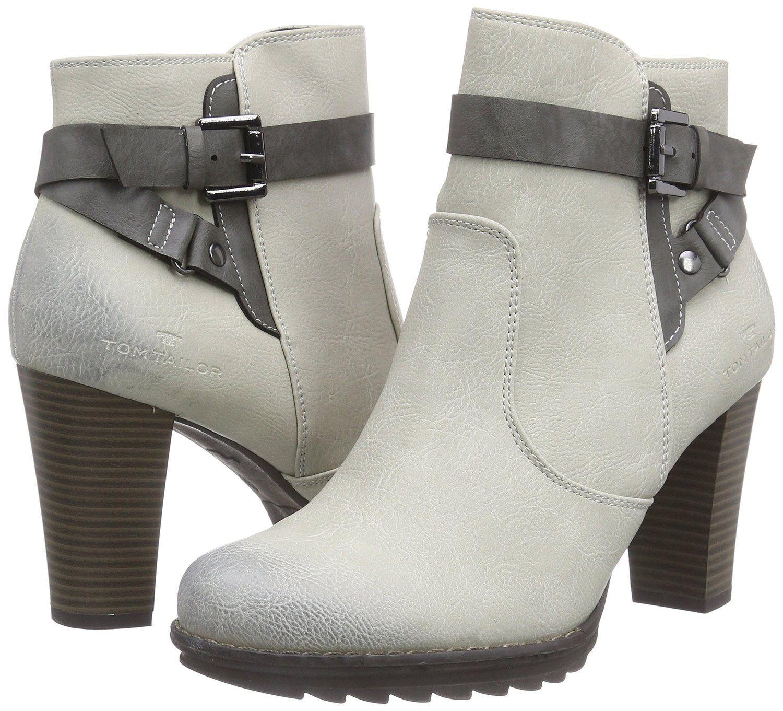 Tom Tailor Damen Kurzschaft Stiefelette Amazon De Schuhe Handtaschen Schuhe Damen Stiefeletten Schuhe