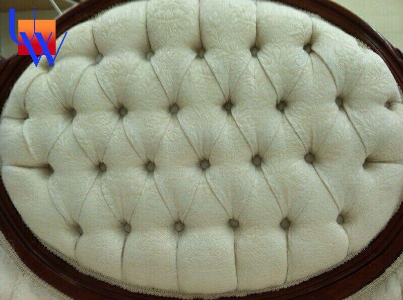 Tufted: Upholstery by Upholstery Works in Las Vegas. http://UpholsteryWorksLV.com