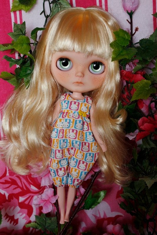 ReservedCustom Blythe OOAK Doll by by dolliecuteness on Etsy