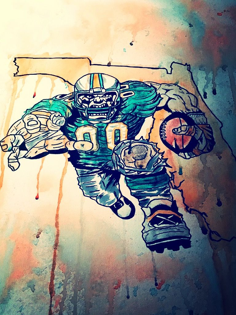 Miami dolphins art dolphins nfl my creations pinterest miami dolphins art dolphins nfl voltagebd Choice Image