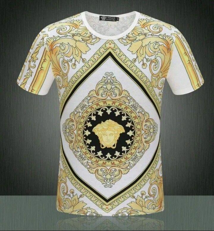 Versace Shirt Size Medium 2xl Versace T Shirt Versace Medusa T Shirt Versace Shirts