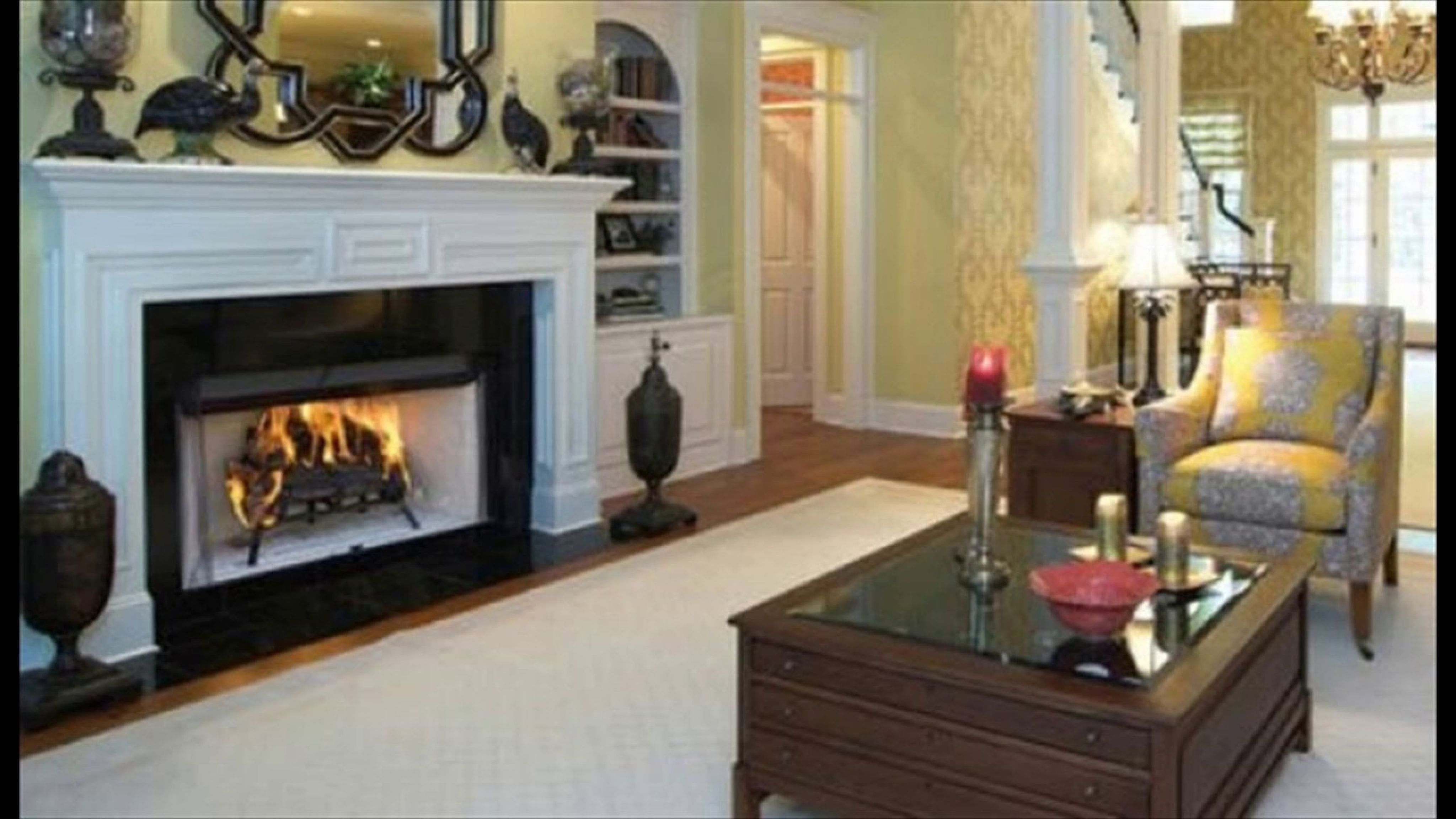 zero clearance wood burning fireplace interior paint color ideas