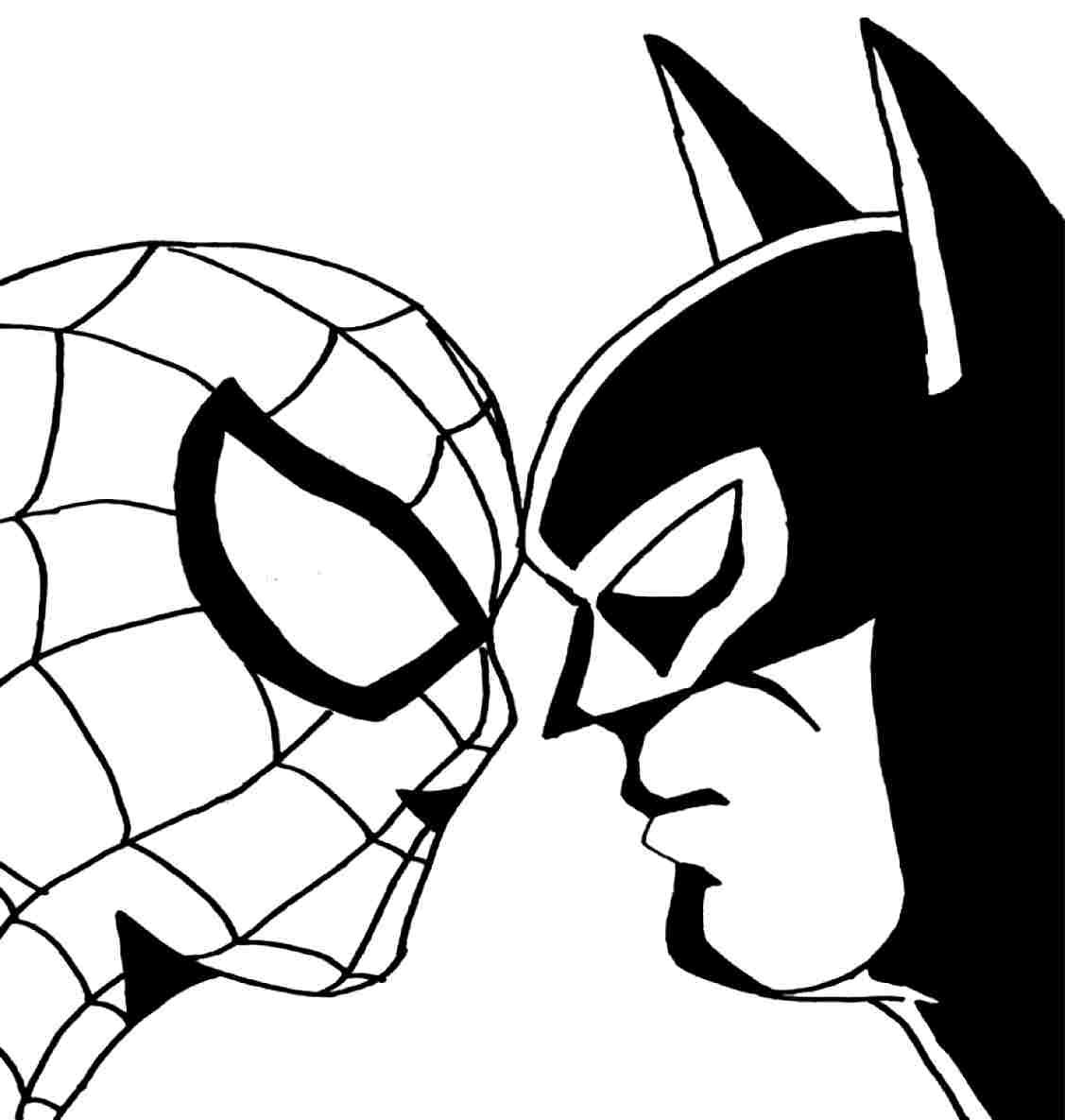 #batman #coloring #pages #spidermannd #2020 Check more at ...