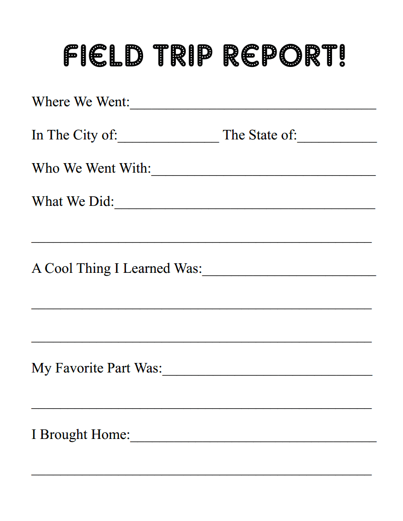 All Things With Purpose Erie Canal Field Trip  Free Printable