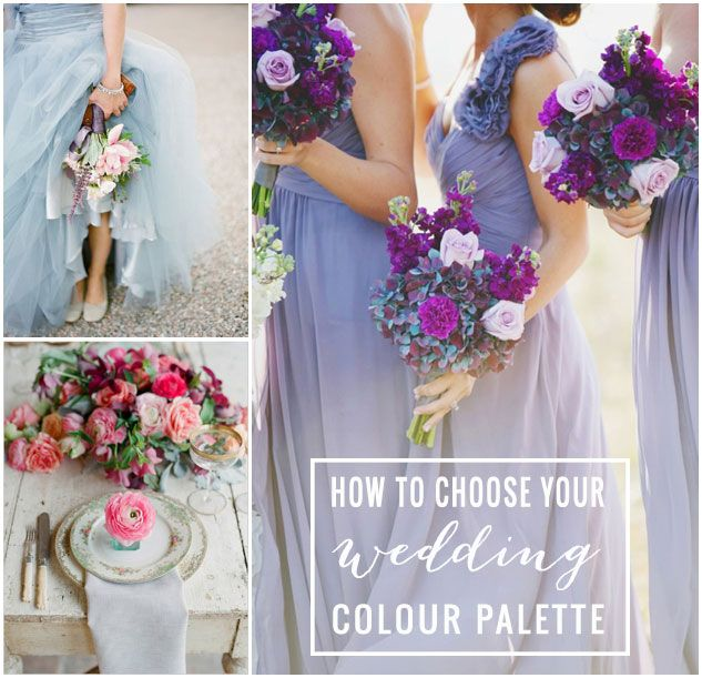 Colorful Bedrooms Choose Your Perfect Palette: Wedding Planning Tips: Choosing The Right Colour Palette